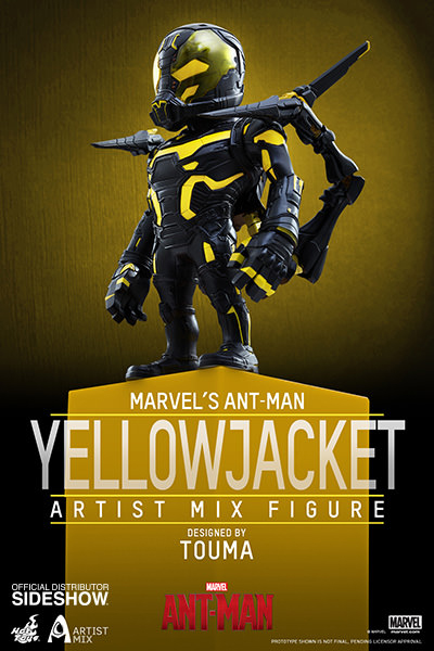 Ant-Man Artist Mix Yellowjacket Collection Figure 13 cm
