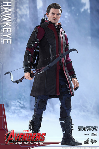 Avengers: Age of Ultron MMS Action Figure 1/6 Scale Hawkeye 30 cm