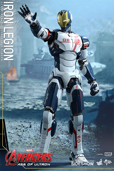 Avengers Age of Ultron Movie Masterpiece Action Fig. 1/6 Iron Legion 31 cm