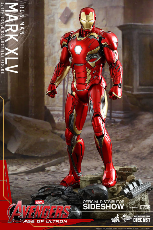 Avengers Age of Ultron MMS Diecast Action Figure 1/6 Iron Man MarkXLV 30 cm
