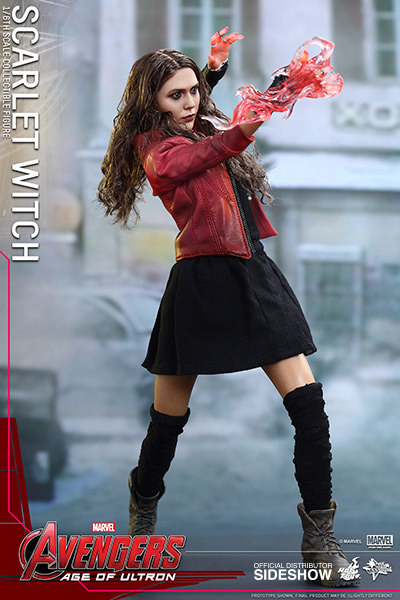 Avengers Age of Ultron Movie Masterpiece Action Fig 1/6 Scarlet Witch 28 cm
