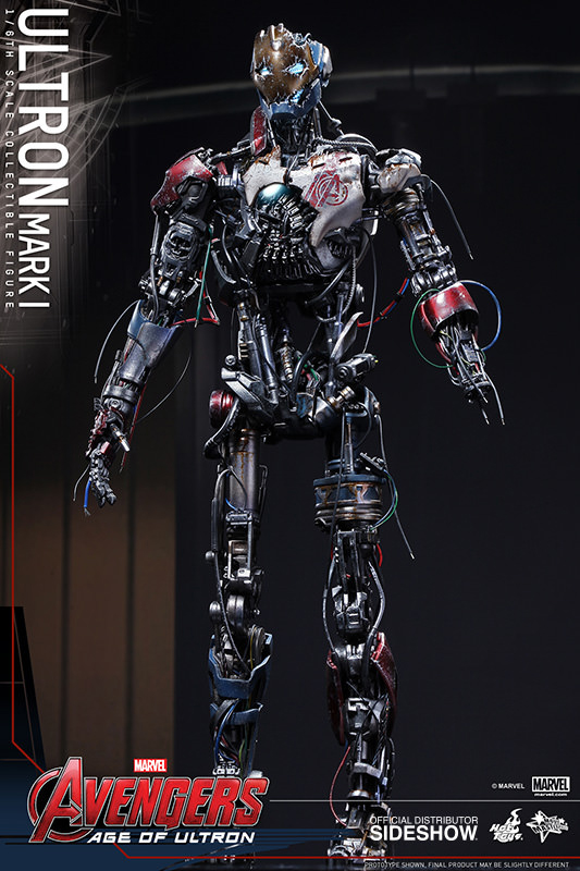 Avengers Age of Ultron Movie Masterpiece Action Fig 1/6 Ultron Mark I 33 cm