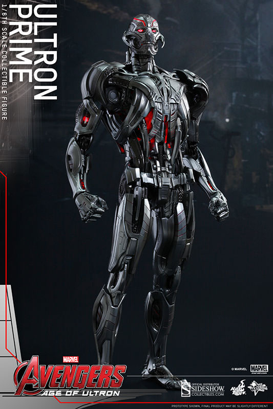 Avengers Age of Ultron Movie Masterpiece Action Fig 1/6 Ultron Prime 41 cm