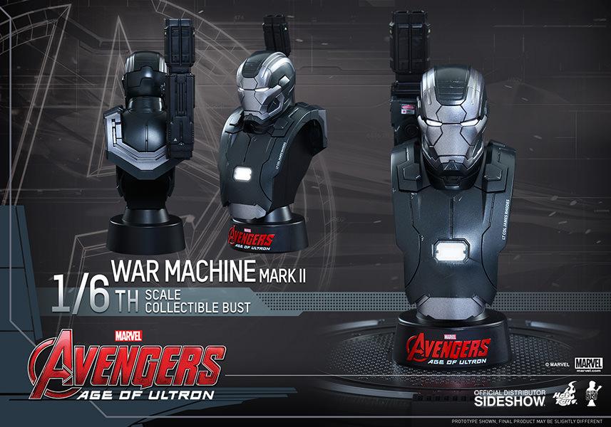 Avengers: Age of Ultron Busto War Machine Mark II Escala 1/6