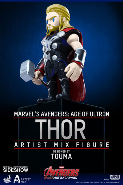 Avengers Age of Ultron Artist Mix Bobble-Head Thor 13 cm