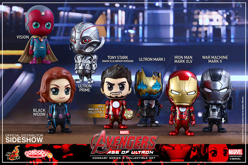 Avengers Age of Ultron Cosbaby Set (7 Figures)