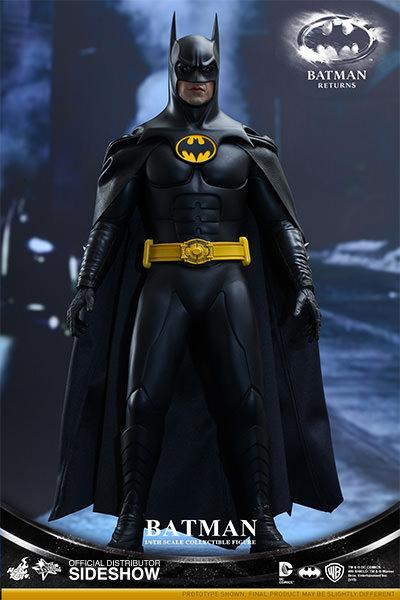 Batman Returns Movie Masterpiece Action Fig 2-Pack 1/6 Batman & Bruce Wayne