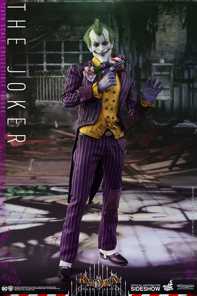 Batman Arkham Asylum Videogame Masterpiece Action Fig 1/6 The Joker 31 cm