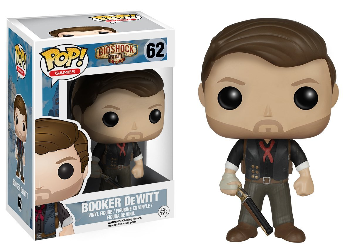 BioShock POP! Games Vinyl Figure Booker DeWitt 10 cm