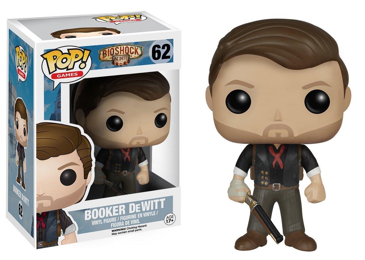 BioShock POP! Games Vinyl Figure Booker DeWitt 10 cm