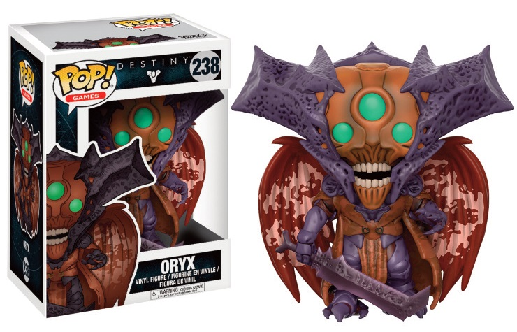 Funko POP! Games Destiny - Oryx Vinyl Figure 10 cm