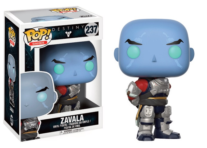Funko POP! Games Destiny - Commander Zavala Vinyl Figure 10 cm