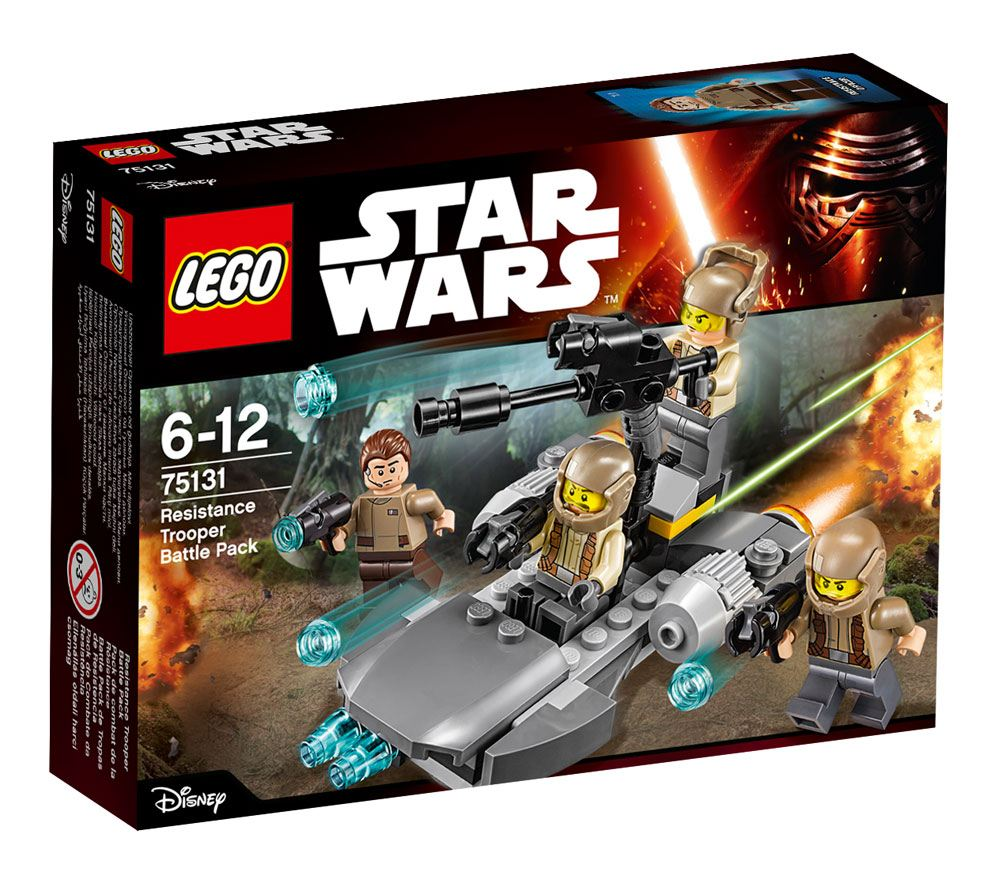 LEGO® Star Wars™ Battle Packs Episode VII Resistance Trooper Battle Pack