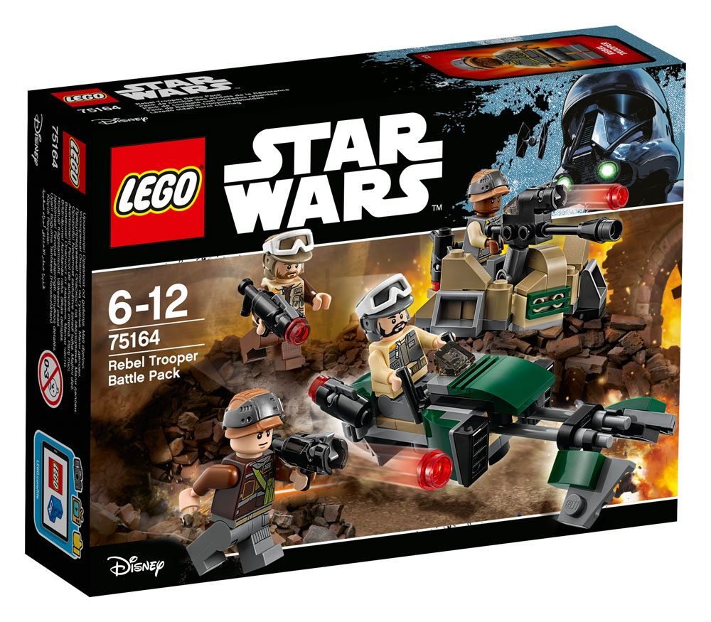 LEGO® Star Wars™ Battle Packs Rogue One Rebel Trooper Battle Pack