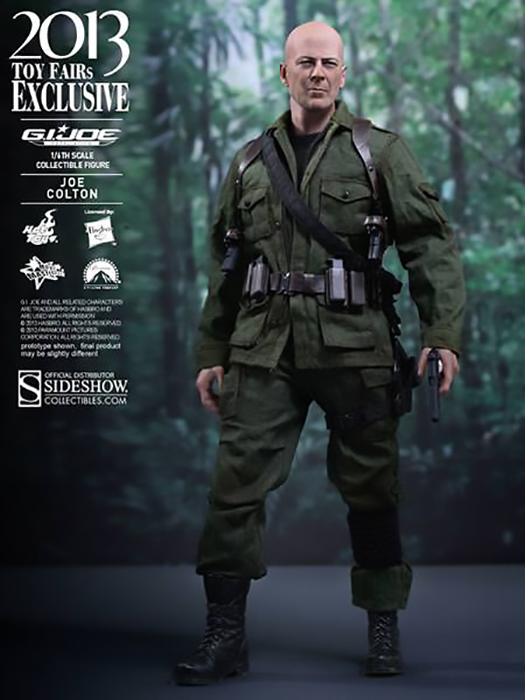 G.I. Joe Retaliation 2013 Toy Fair Exclusive MMS Action Fig. 1/6 Joe 30 cm