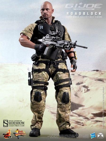 G.I. Joe Retaliation MMS Figura Articulada 1/6 Roadblock 30 cm