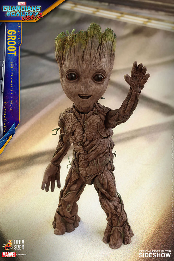 Guardians of the Galaxy Vol. 2 Life-Size Masterpiece Action Fig Groot 26 cm