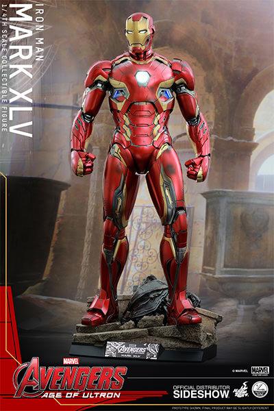 Iron Man Action Figure 1/4 Scale Mark 45 50 cm