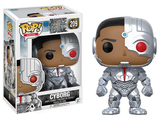Justice League Movie POP! Movies Vinyl Figure Cyborg 10 cm