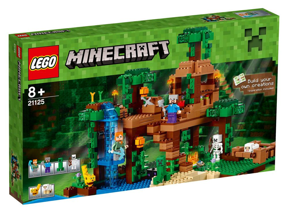 LEGO® Minecraft™ The Jungle Tree House