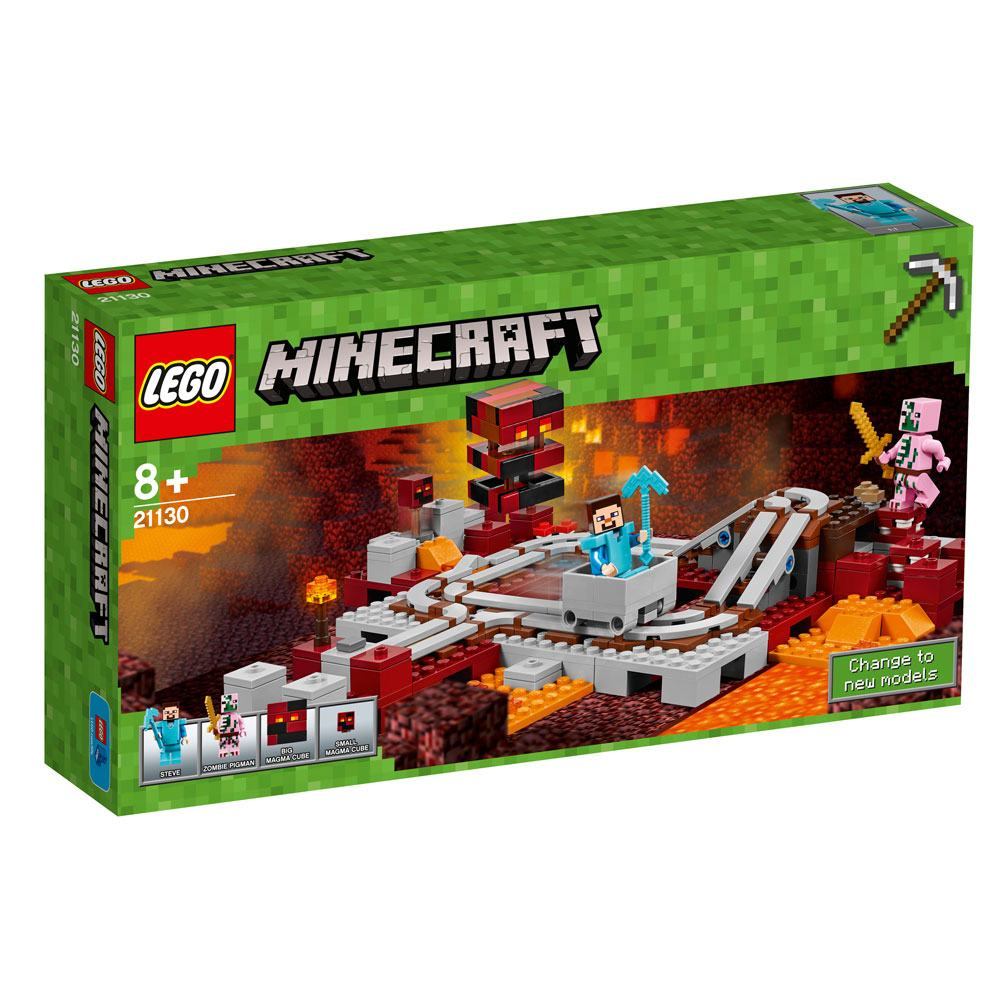 LEGO® Minecraft™ The Nether Railway