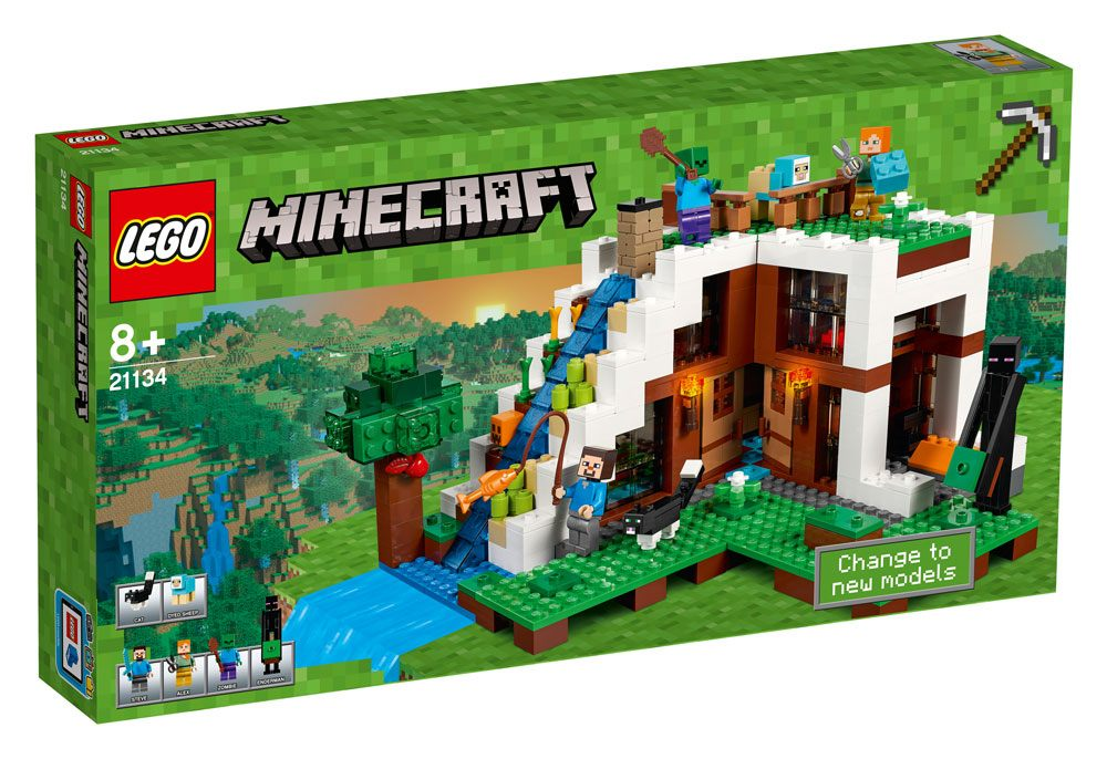 LEGO® Minecraft™ The Waterfall Base