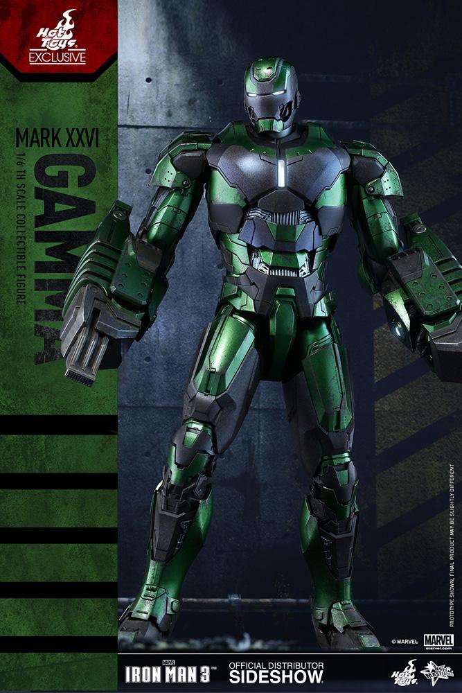 Iron Man 3 Movie Masterpiece Action Figure 1/6 Iron Man Mark XXVI Exc 34 cm