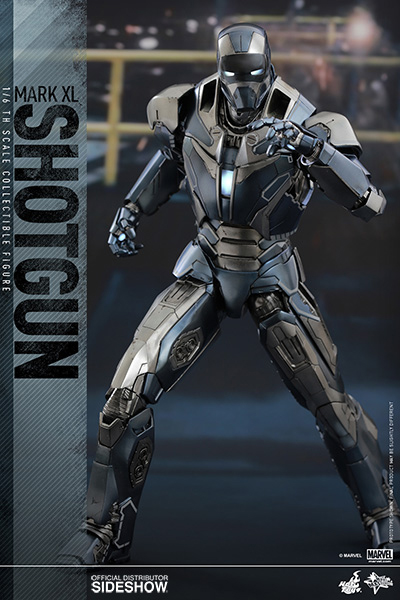 Iron Man 3 Movie Masterpiece Action Fig 1/6 Iron Man Mark XL Shotgun 30 cm