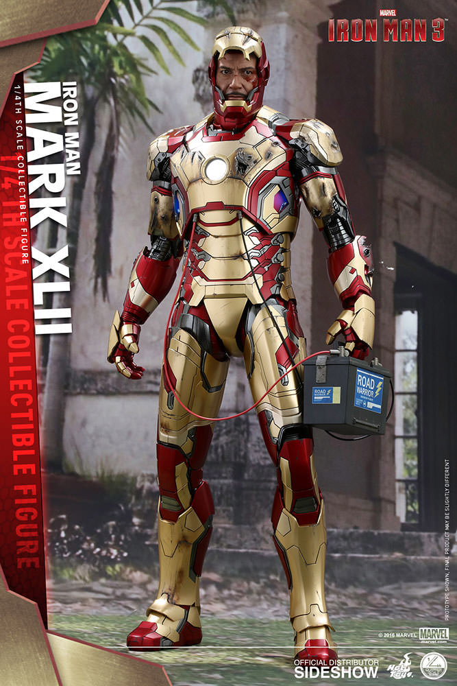 Iron Man 3 - Action Figure 1/4 Iron Man Mark Mark XLII 50 cm