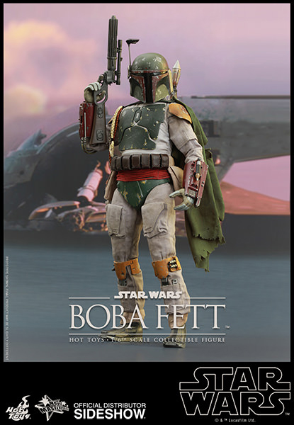 Star Wars: Episode VI Return of the Jedi MMS Action Fig 1/6 Boba Fett 30 cm