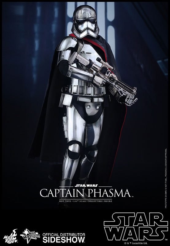 Star Wars Episode VII Movie Masterpiece Action Fig 1/6 Captain Phasma 33 cm