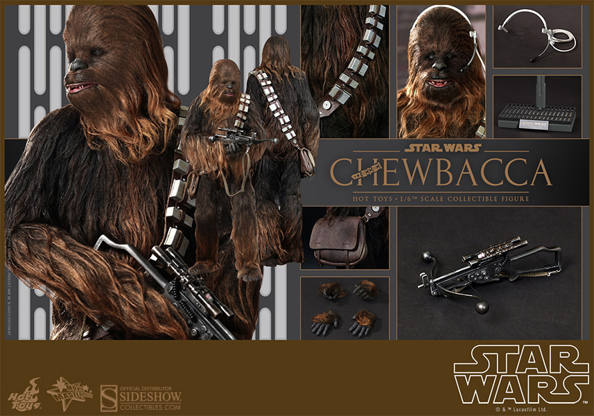 Star Wars Movie Masterpiece Action Figure 1/6 Chewbacca 36 cm