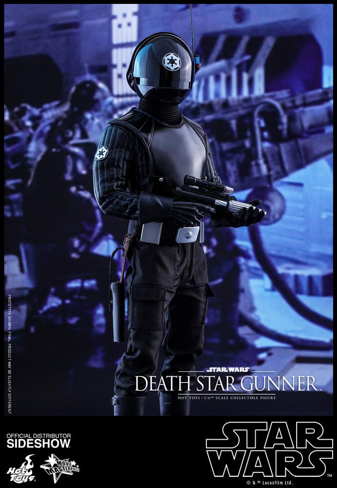 Star Wars Episode IV Movie Masterpiece Ac. Fig. 1/6 Death Star Gunner 30 cm