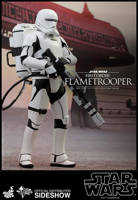 Star Wars Episode VII Masterpiece AF 1/6 First Order Flametrooper 30 cm