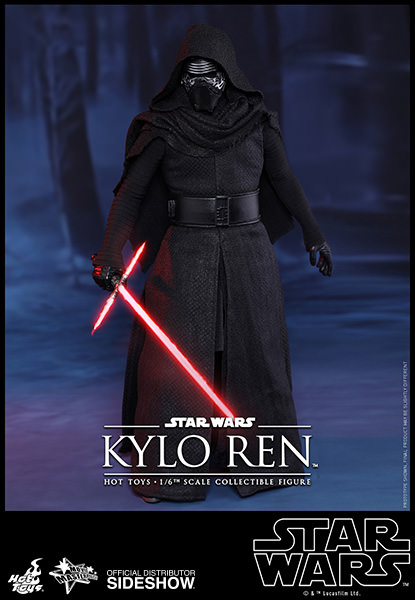 Star Wars Episode VII Movie Masterpiece Action Figure 1/6 Kylo Ren 33 cm
