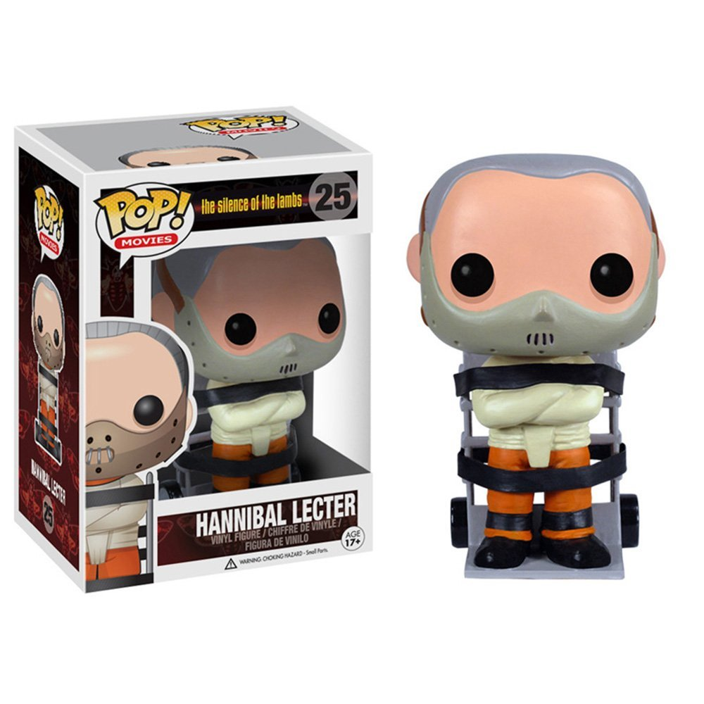 POP! Vinyl MOVIES : HANNIBAL LECTER (SILENCE OF THE LAMBS) 10 cm