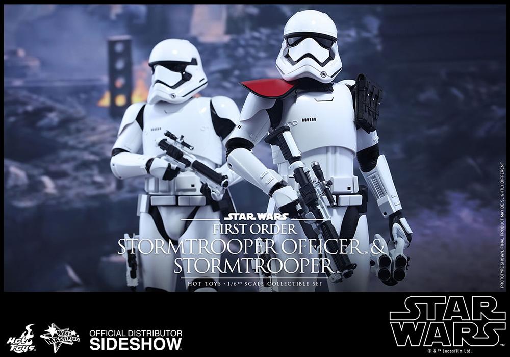 Star Wars Episode VII AF 2-Pack 1/6 First Order Stormtrooper & FOS Officer