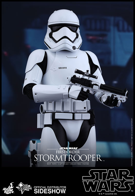 Star Wars Episode VII Movie Masterpiece AF 1/6 First Order Storm 30 CM