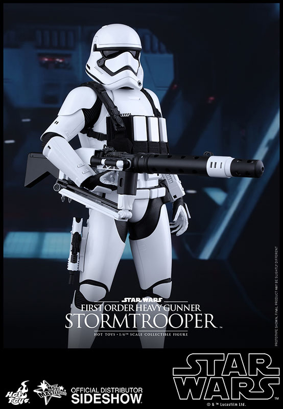 Star Wars Episode VII MMS AF 1/6 First Order HeavyGunner Stormtrooper 30 cm