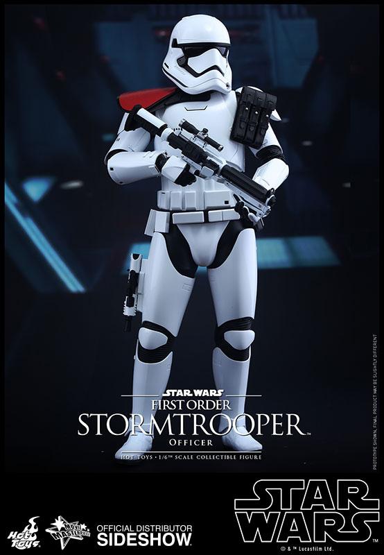 Star Wars Episode VII Masterpiece AF 1/6 First Order Stormtrooper Officer