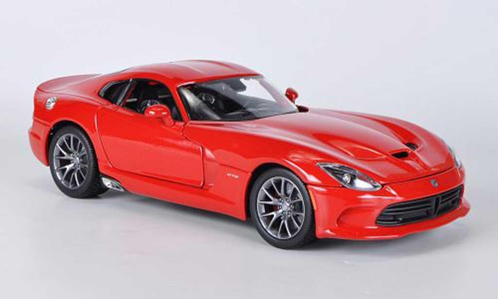 Dodge Viper Gts Srt 2013 Scale 1:43 (Red/Vermelho)