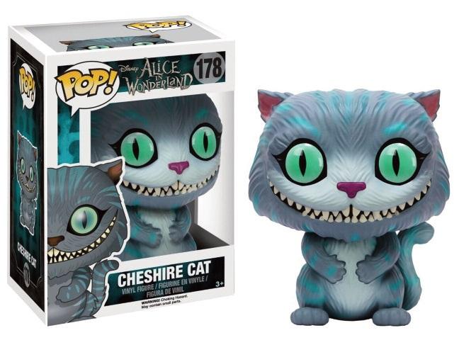 Pop! Movies: Alice in Wonderland - Cheshire Cat Vinyl Figure 10 cm