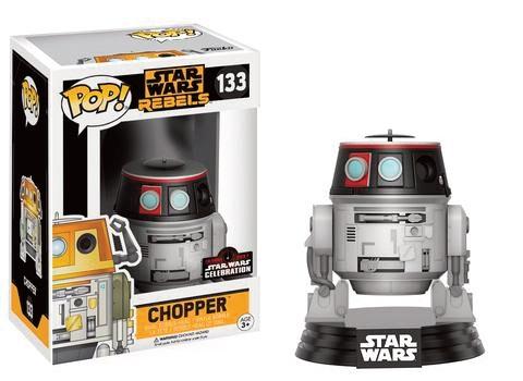 Pop! Star Wars: Celebration 2017 - Rebels Chopper Limited Edition 10 cm