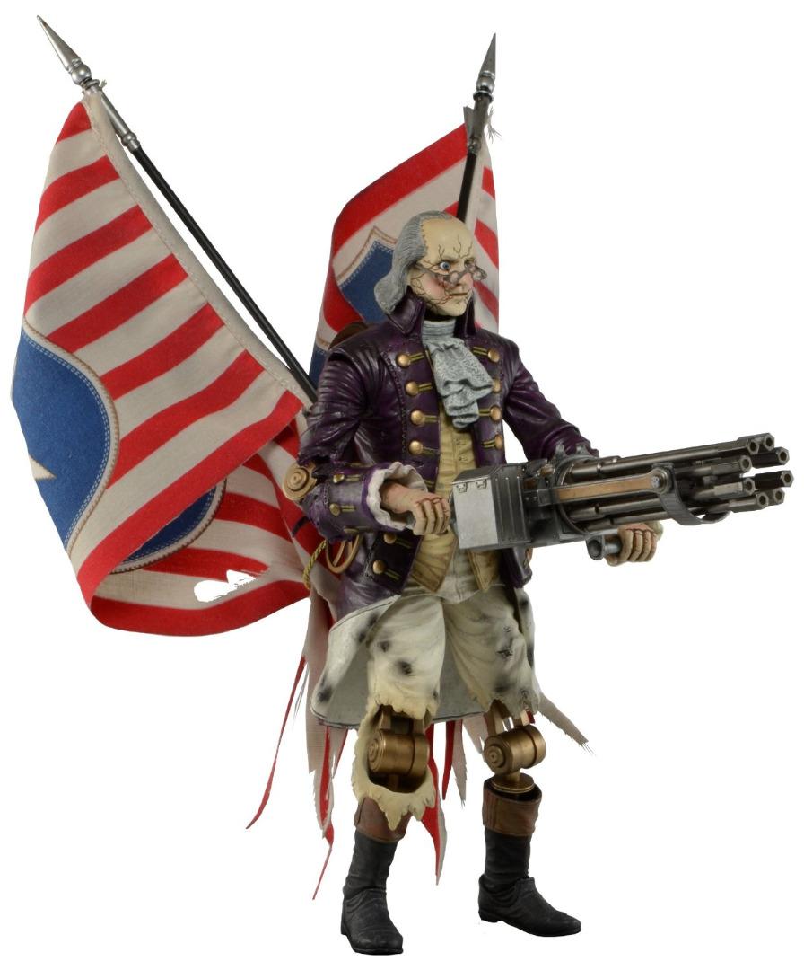Action Figure BioShock Infinite Benjamin Franklin HeavyHitter Patriot 23 cm