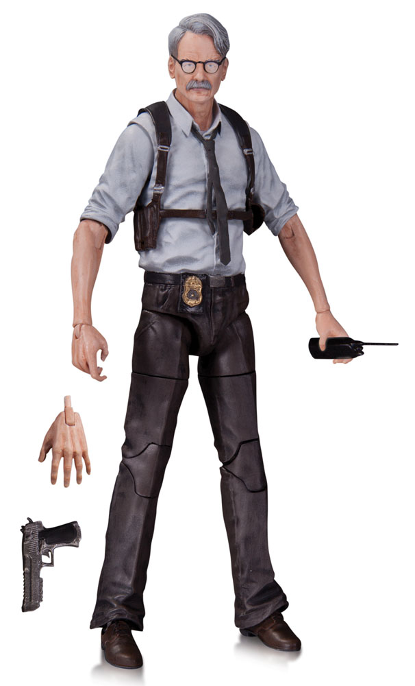 Action Figure Batman Arkham Knight Commissioner Gordon 17 cm
