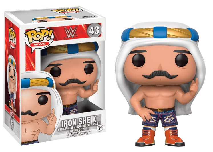 Pop! WWE: Iron Sheik Vinyl Figure 10 cm