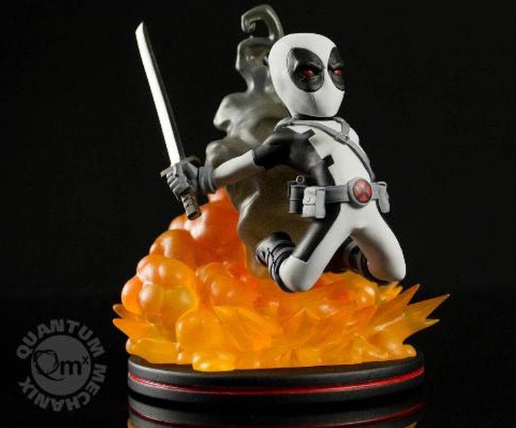 Marvel Comics Q-Fig Figure Deadpool X-Force Variant 15 cm