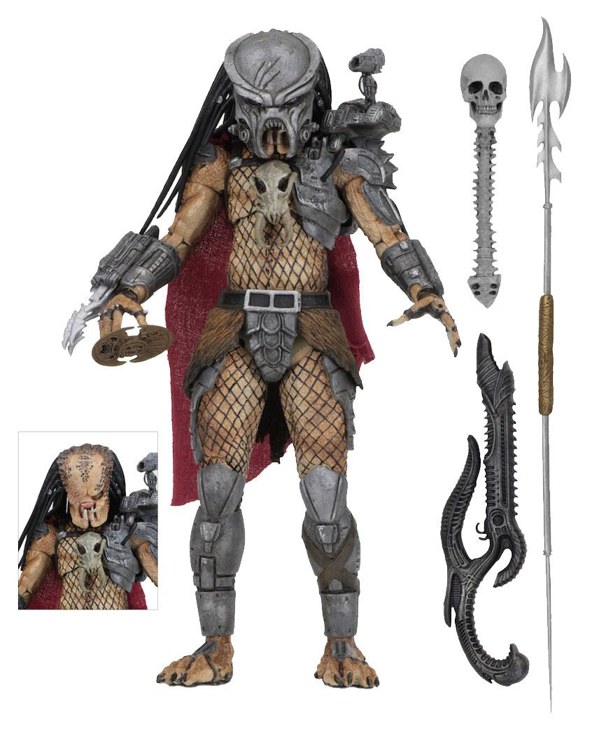 Predator Action Figure Ultimate Deluxe Ahab Predator 20 cm
