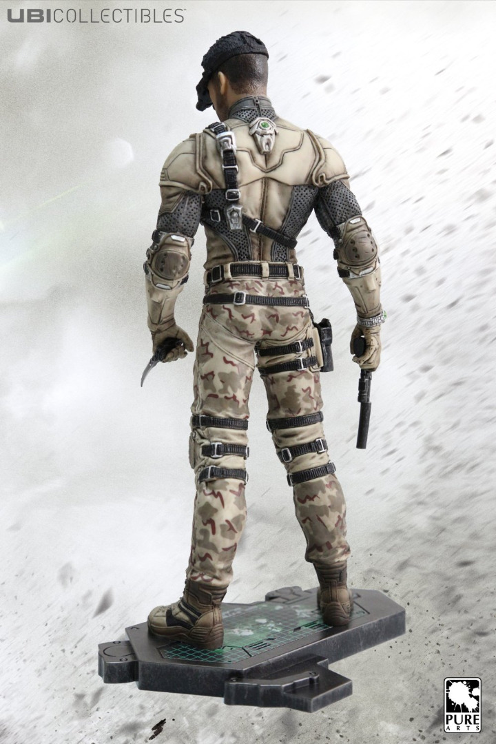 Action Figure TOM CLANCY'S SPLINTER CELL BLACKLIST -SAM FISHER DESERT 25 cm