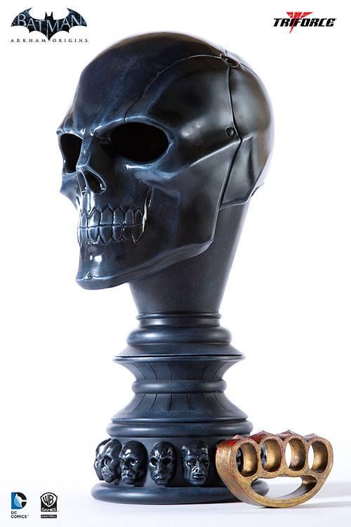 Batman Arkham Origins Replica 1/1 Black Mask Arsenal 46 cm